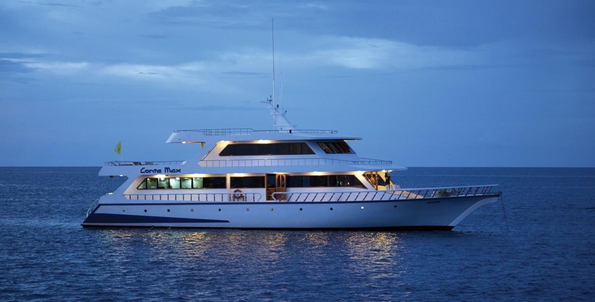 maldives croisiere plongee conte max nuit